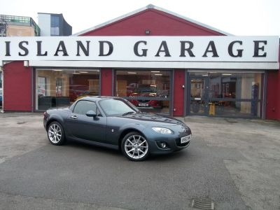 Mazda MX-5 2.0i 2dr Powershift Convertible Petrol Grey at Island Garage Stafford