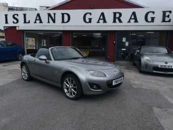 Mazda MX-5 2.0i 2dr Powershift Convertible Petrol Silver at Island Garage Stafford