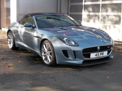 Jaguar F-type 3.0 Supercharged V6 S 2dr Auto Convertible Petrol Grey at Island Garage Stafford