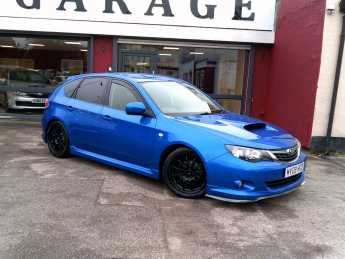 Subaru Impreza 2.5 WRX 5dr Hatchback Petrol Blue at Island Garage Stafford