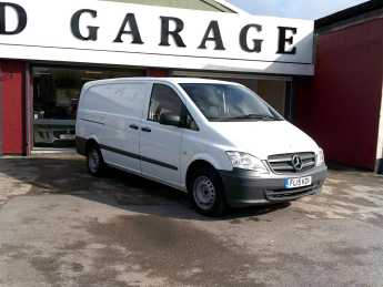 Mercedes-Benz Vito 2.1 VITO 113 CDI Commercial Diesel White at Island Garage Stafford