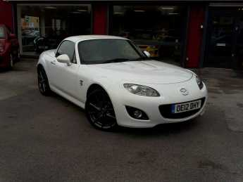 Mazda MX-5 2.0i Venture Edition 2dr Convertible Petrol White at Island Garage Stafford