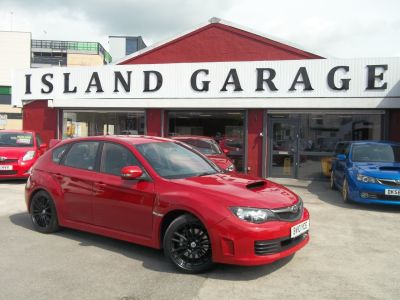 Subaru Impreza 2.5 WRX STI Type UK 5dr Hatchback Petrol Red at Island Garage Stafford