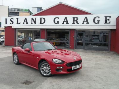 Fiat 124 Spider 1.4 Multiair Classica 2dr Convertible Petrol Red at Island Garage Stafford
