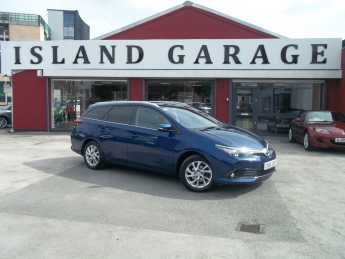 Toyota Auris 1.2T Icon 5dr Estate Petrol Blue at Island Garage Stafford