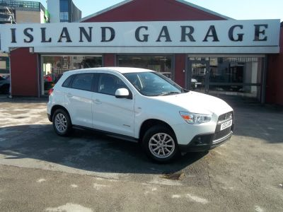 Mitsubishi ASX 1.6 Attivo ClearTec 5dr Hatchback Petrol White at Island Garage Stafford