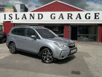 Subaru Forester 2.0 XT 5dr Lineartronic Estate Petrol Silver at Island Garage Stafford