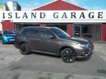 Mitsubishi Outlander 2.0 PHEV GX4h 5dr Auto Estate Petrol / Electric Hybrid Brown at Island Garage Stafford