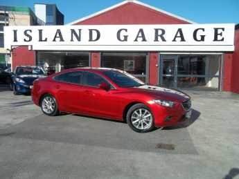 Mazda 6 2.0 SE-L Nav 4dr Auto Saloon Petrol Red at Island Garage Stafford