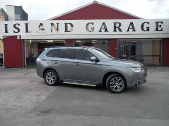 Mitsubishi Outlander 2.0 PHEV GX5h 5dr Auto Estate Petrol / Electric Hybrid Grey at Island Garage Stafford