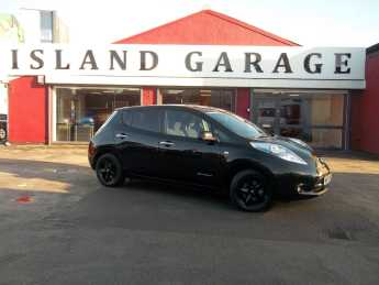 Nissan Leaf 0.0 80kW Black Edition 30kWh 5dr Auto Hatchback Electric Black at Island Garage Stafford