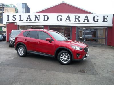 Mazda Cx-5 2.0 SE-L Nav 5dr Estate Petrol Red at Island Garage Stafford