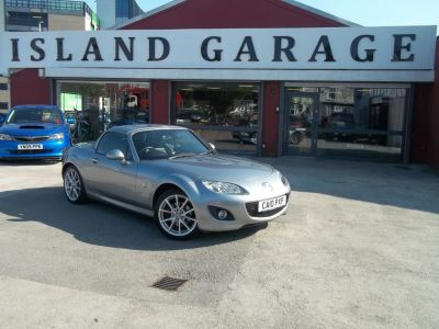 Mazda MX-5 2.0i Sport Tech 2dr Convertible Petrol Silver at Island Garage Stafford
